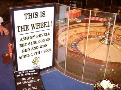 Ashley Revell Roulette Wheel