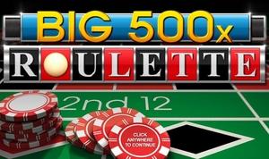 Big 500x Roulette Logo