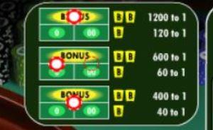 Double Bonus Roulette Bonus Payouts
