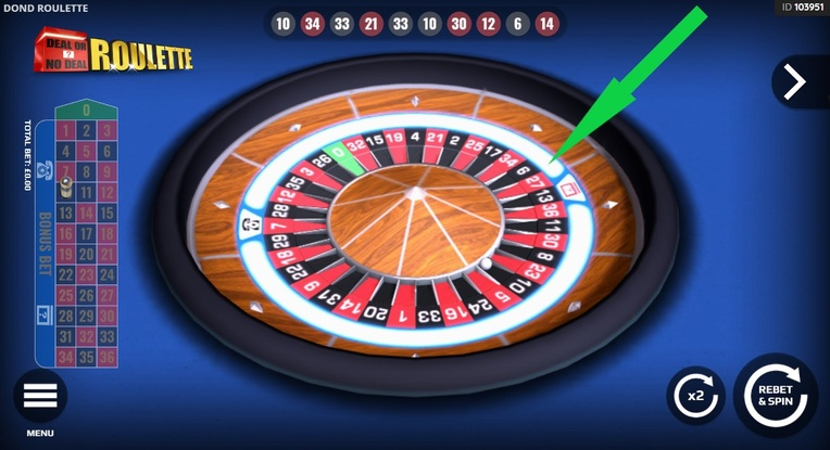 Deal or No Deal Roulette Wheel