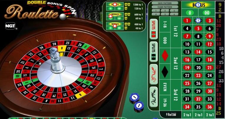 Double Bonus Spin Roulette Bonus Wheel
