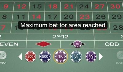 Maximum bet