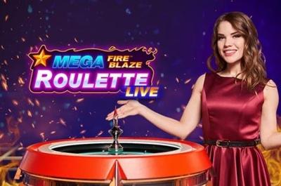 Mega Fire Blaze Roulette Logo