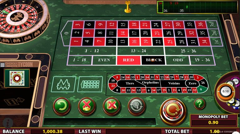 Monopoly Roulette Tycoon