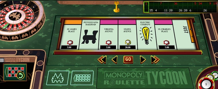 Monopoly Roulette Tycoon Bonus Game Bets