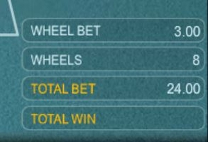 Multi Wheel Roulette Bet Level