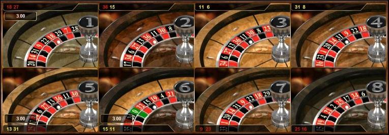 Multi Wheel Roulette Results