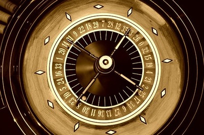 Old Roulette Wheel