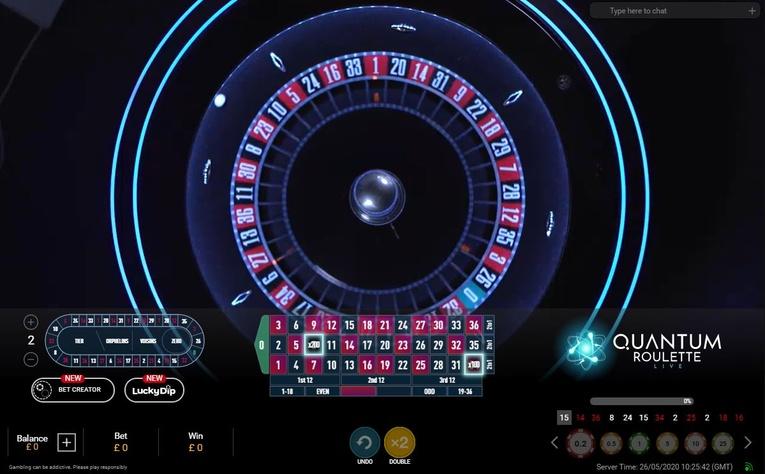 Quantum Auto Roulette