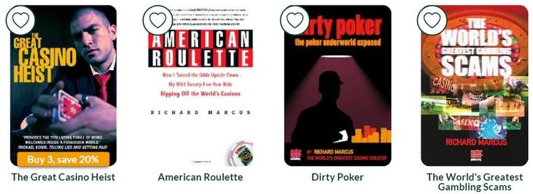 Richard Marcus Gambling Books