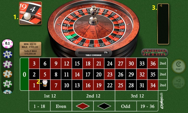Roulette Result