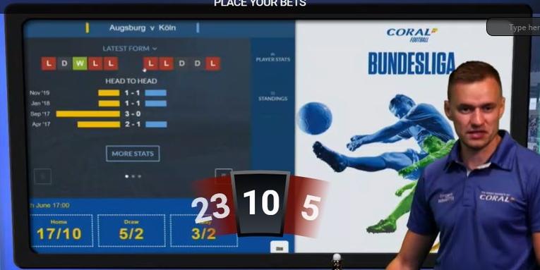Sport Roulette Screen Statistics