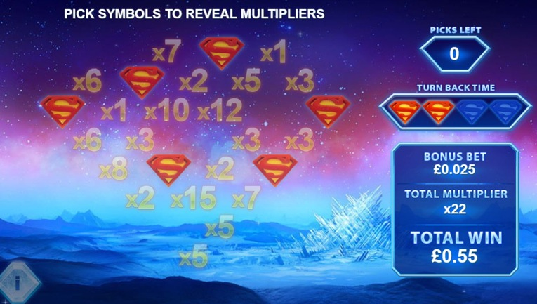 Superman Roulette Bonus Results