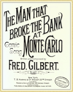 The man Who Broke the Bank at monte Carlo Song
