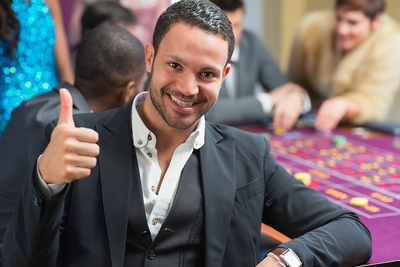 Thumbs Up Roulette Player