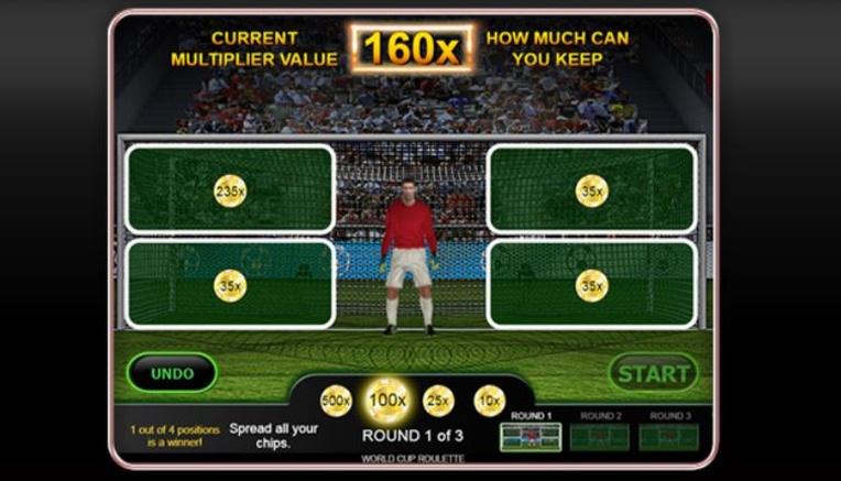 World Cup Roulette Bonus Round